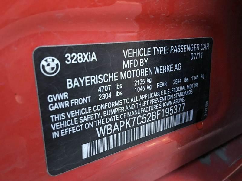 2011 BMW 3 Series 328i xDrive AWD 4dr Sedan - Anchorage AK