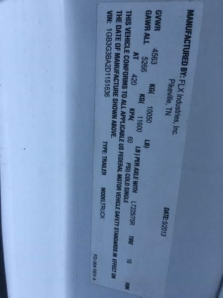 2013 Chevrolet Express Cutaway 3500 2dr 159 in. WB Cutaway Chassis w/ 1WT - Anchorage AK