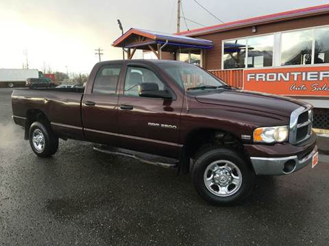 Frontier Auto Sales Used Cars Anchorage Ak Dealer