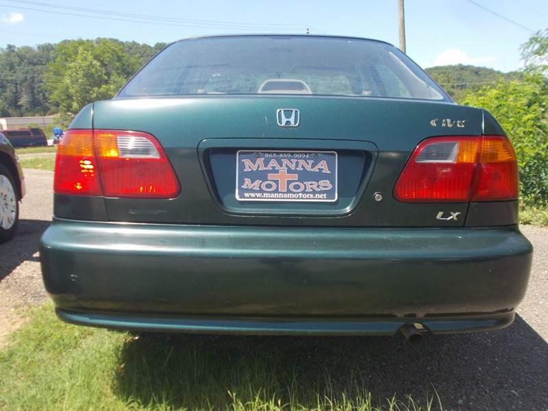 2000 Honda Civic LX 4dr Sedan - Knoxville TN
