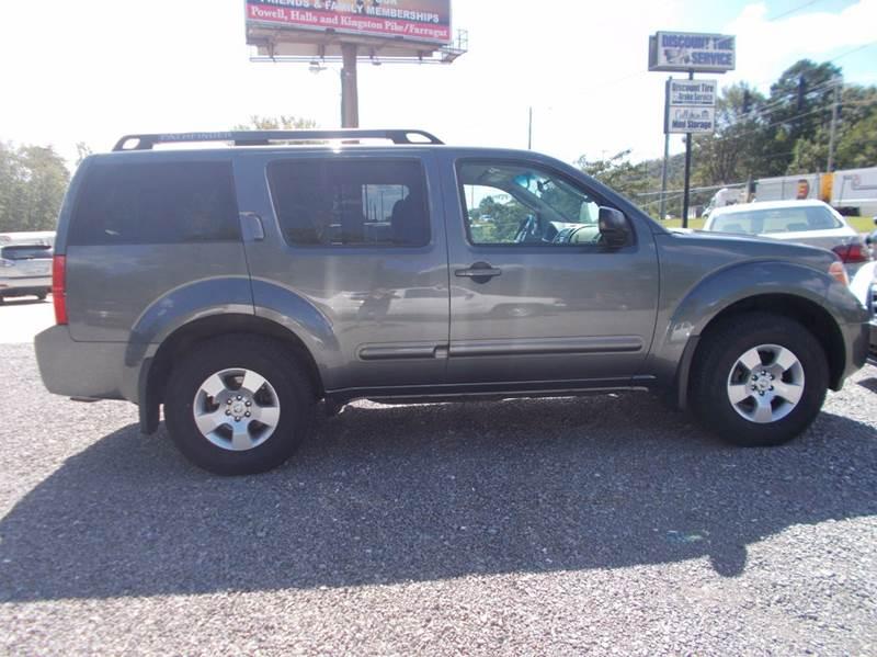 2006 Nissan Pathfinder SE 4dr SUV 4WD - Knoxville TN