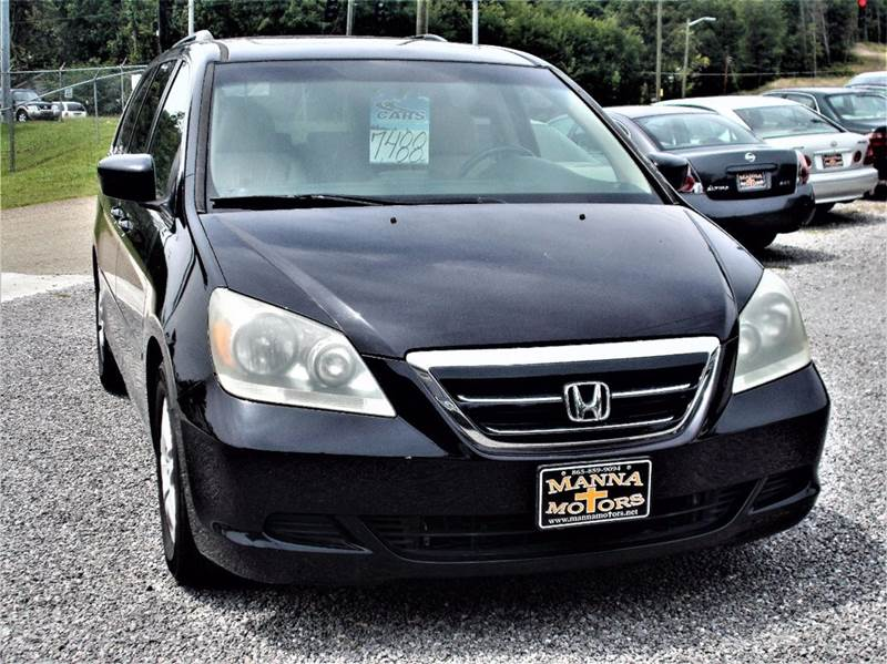 2007 Honda Odyssey EX L w/DVD 4dr Mini Van - Knoxville TN