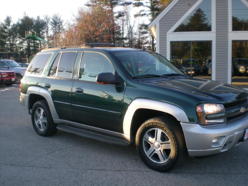 2005 chevrolet trailblazer ls 4wd 4dr suv in north hampton. Black Bedroom Furniture Sets. Home Design Ideas