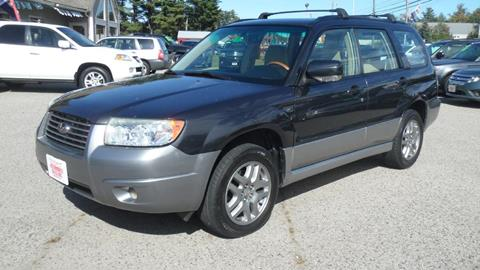 2008 Subaru Forester for sale in North Hampton, NH