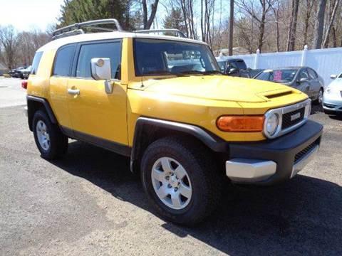 2007 Toyota FJ Cruiser for sale in Prospect, CT