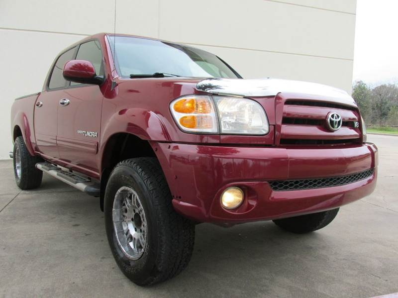 2004 toyota tundra limited 4dr double cab rwd sb v8 in richmond tx quality motorcars. Black Bedroom Furniture Sets. Home Design Ideas
