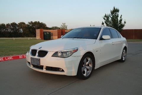2005 BMW 5 Series for sale in Lewisville, TX