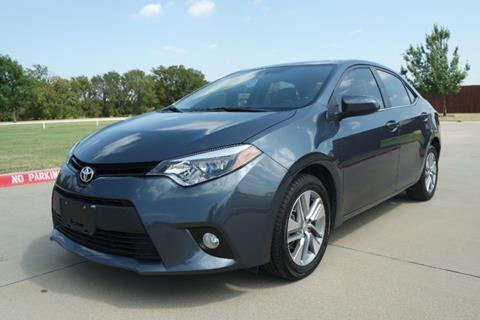2014 Toyota Corolla for sale in Lewisville TX