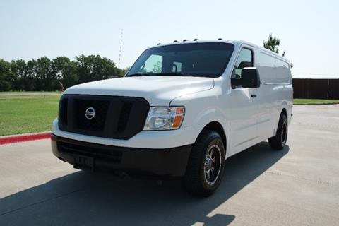 2012 Nissan NV Cargo for sale in Lewisville, TX