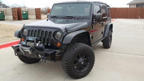 2008 Jeep Wrangler Unlimited for sale in Lewisville TX
