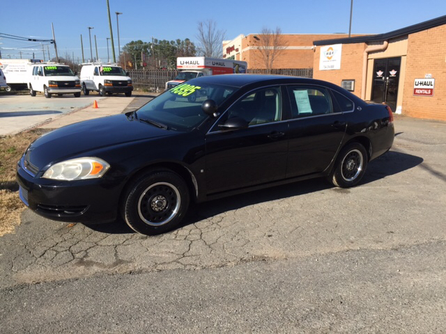 2006 chevrolet impala unmarked police 4dr sedan charlotte nc. Black Bedroom Furniture Sets. Home Design Ideas