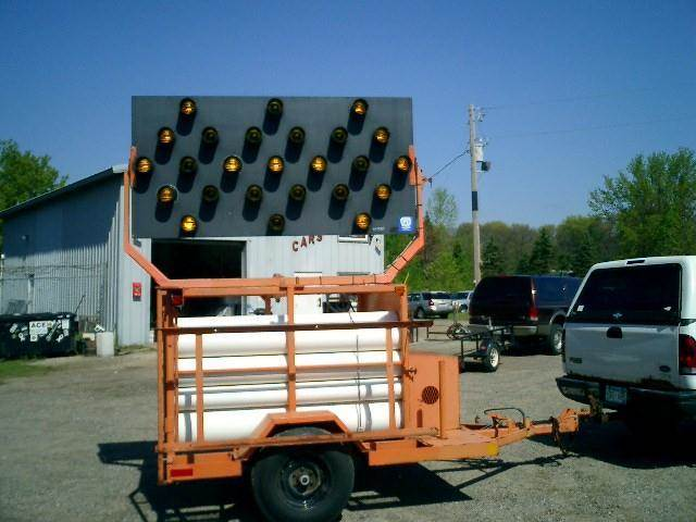 1995 Minnco Flashing Arrow Sign for sale