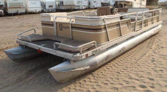 1984 Godfrey Pontoon Sand Pan 22 Foot Columbus MN