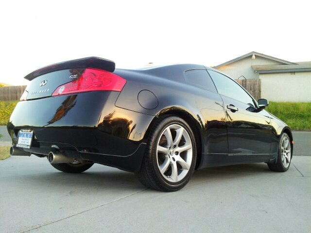 2004 infiniti g35 sport coupe w leather in spring valley ca import motors. Black Bedroom Furniture Sets. Home Design Ideas