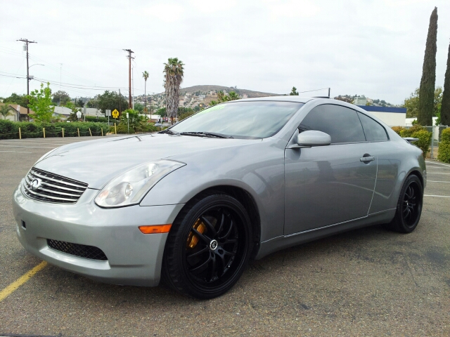 2003 Infiniti G35 Coupe With Leather And 6mt In Spring