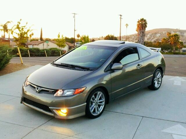 2007 honda civic si for sale in spring valley long beach palm springs import motors. Black Bedroom Furniture Sets. Home Design Ideas