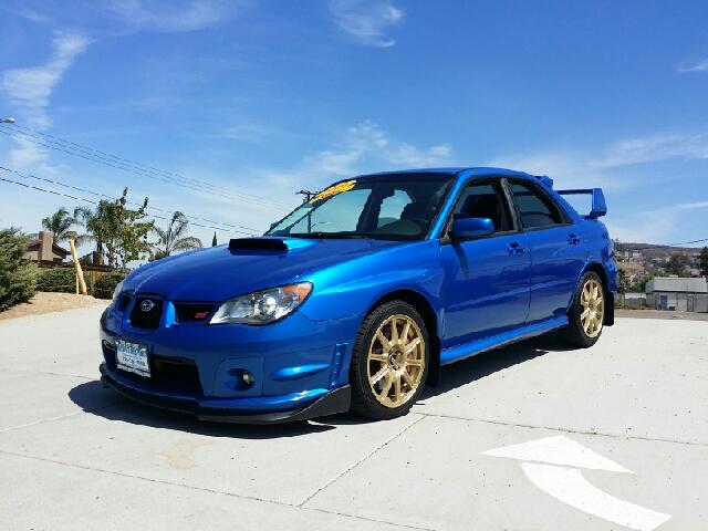 2006 subaru impreza wrx sti awd 4dr sedan w gold bbs for Subaru cumberland valley motors
