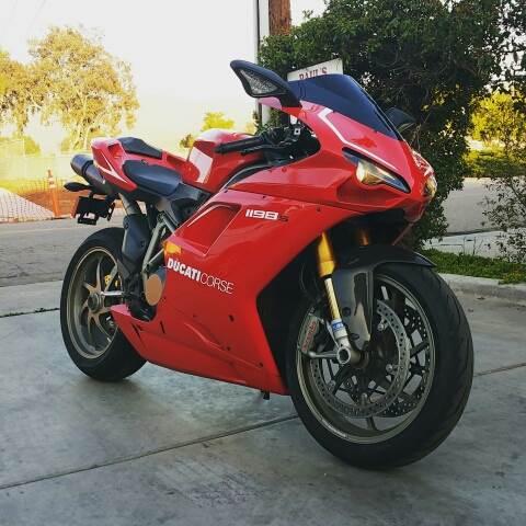 2009 Ducati 1198s Testastretta Evoluzione