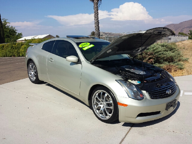 2005 infiniti g35 coupe for sale in spring valley long beach palm springs import motors. Black Bedroom Furniture Sets. Home Design Ideas