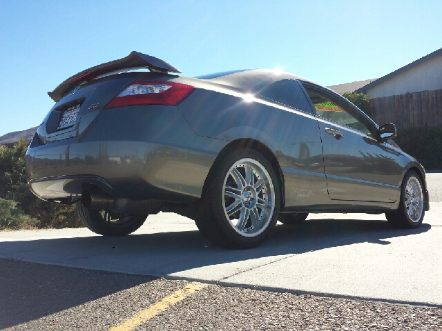 2006 Honda Civic Si 6 Spd With Performance Tire In Spring