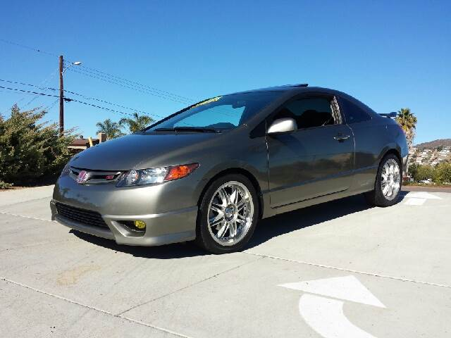 2006 honda civic si 6 spd with performance tire for sale in spring valley long beach palm. Black Bedroom Furniture Sets. Home Design Ideas
