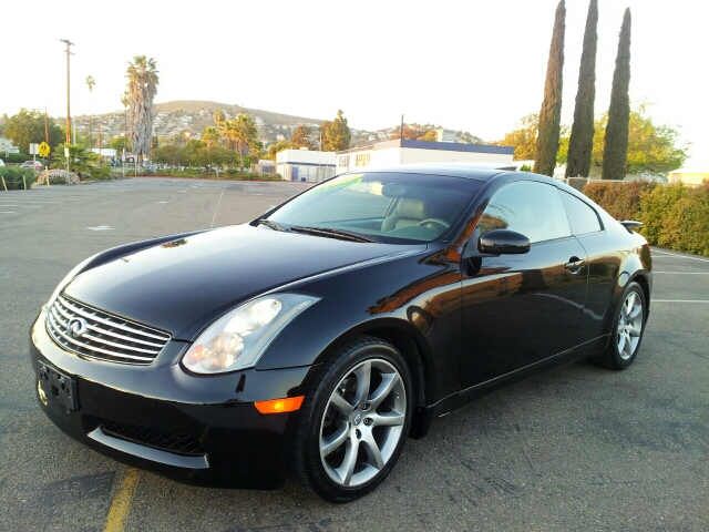 2004 infiniti g35 sport coupe w leather in spring valley long beach palm springs import motors. Black Bedroom Furniture Sets. Home Design Ideas