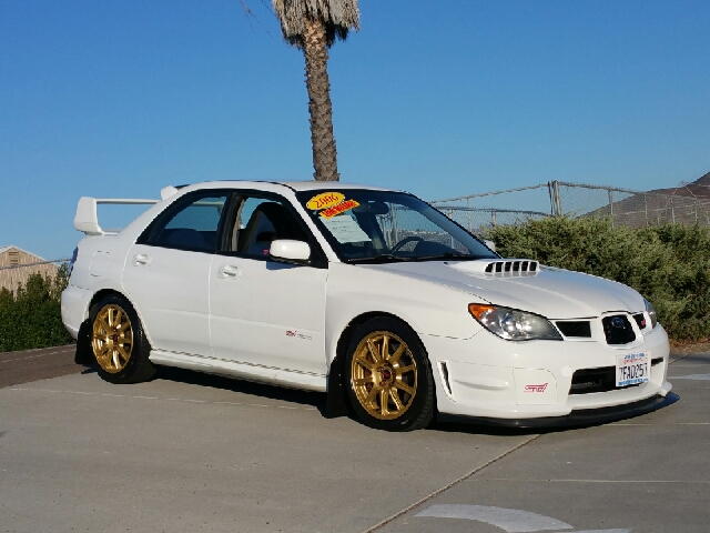 2006 subaru impreza wrx sti awd 4dr sedan w gold painted Subaru valley motors