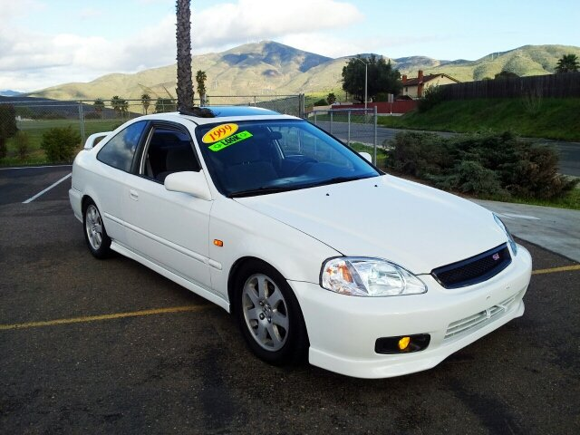 1999 honda civic ex coupe w si conversion in spring valley ca import motors. Black Bedroom Furniture Sets. Home Design Ideas