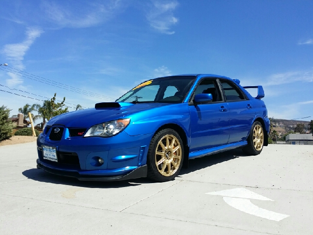 2006 subaru impreza wrx sti awd 4dr sedan w gold bbs Subaru valley motors