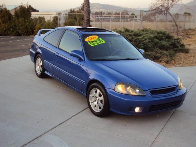 Honda Civic Si 2000 Blue Jdm