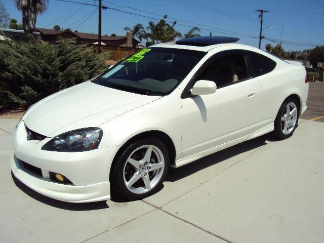 2006 White Rsx Type s 2006 Acura Rsx Type s Spring