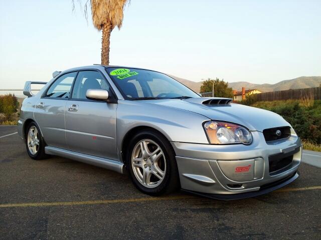 2004 Subaru Impreza Wrx Limited W Sti Upgrades In Spring