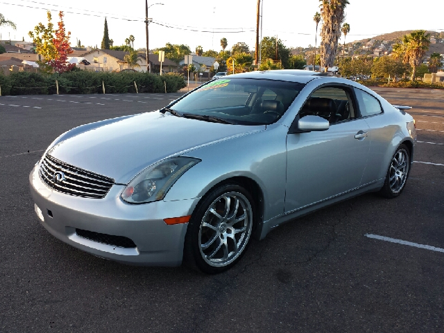2005 infiniti g35 coupe 6mt for sale in spring valley long beach palm springs import motors. Black Bedroom Furniture Sets. Home Design Ideas