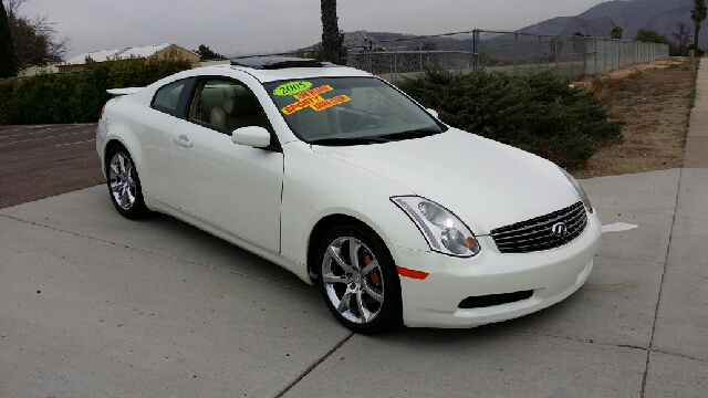 2004 infiniti g35 coupe with leather and 6mt for sale in spring valley long beach palm springs. Black Bedroom Furniture Sets. Home Design Ideas