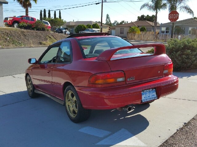 1998 Subaru Impreza Rs Awd 2dr Coupe In Spring Valley Ca