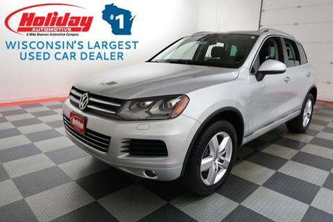 2013 Volkswagen Touareg for sale in Fond Du Lac, WI