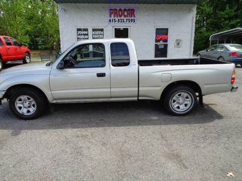 used 2004 toyota tacoma for sale in tennessee. Black Bedroom Furniture Sets. Home Design Ideas