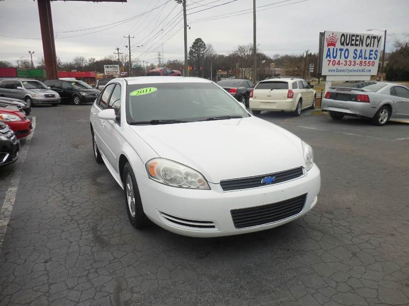 chevrolet impala ls fleet 4dr sedan w 1fl in charlotte nc queen city. Cars Review. Best American Auto & Cars Review