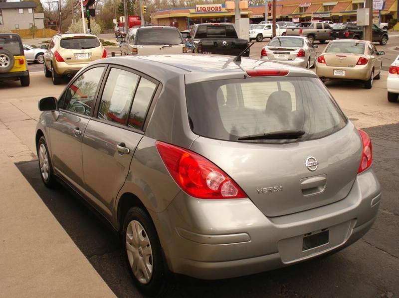 2011 Nissan Versa 1.8 S 4dr Hatchback 4A - Frontier Motors Ltd CO