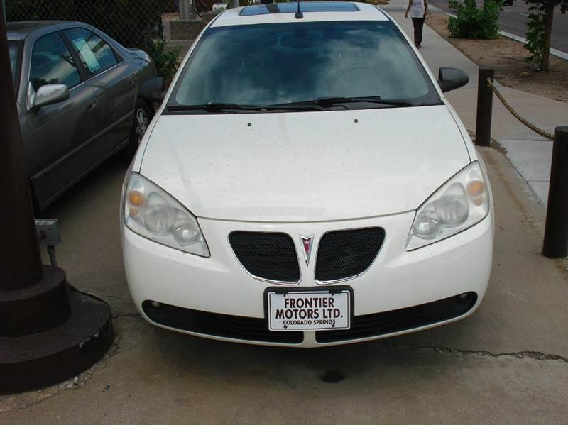 2008 Pontiac G6 4dr Sedan - Frontier Motors Ltd CO