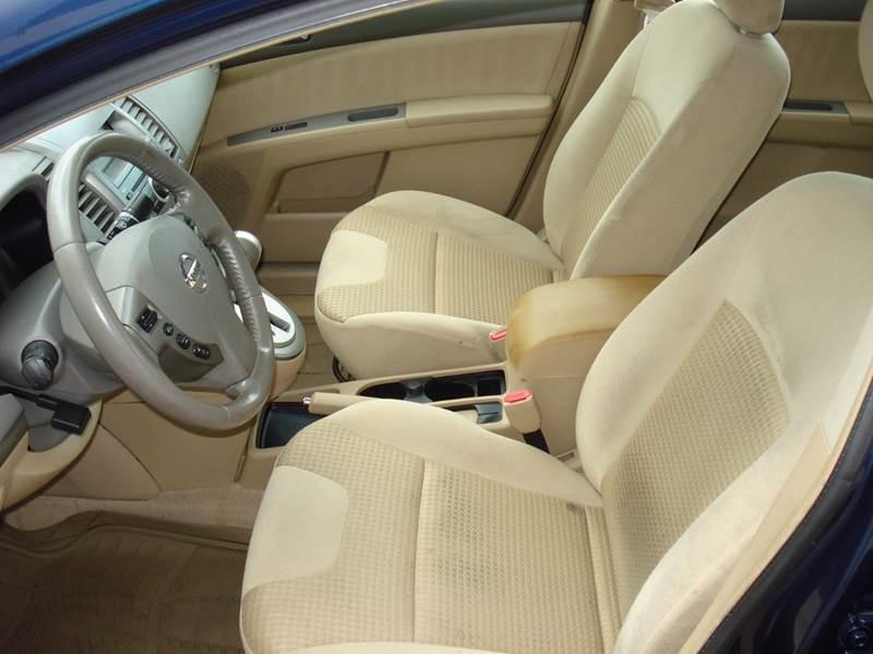 2007 Nissan Sentra 2.0 S 4dr Sedan (2L I4 CVT) - Frontier Motors Ltd CO