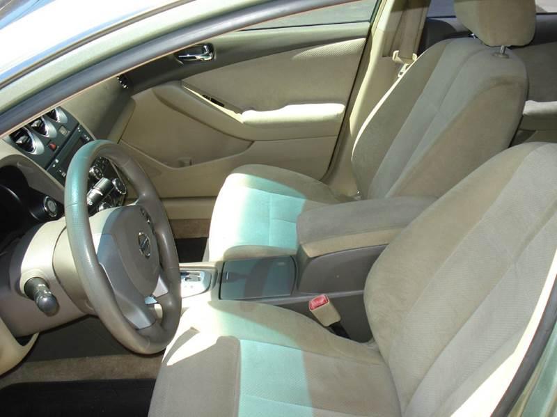 2008 Nissan Altima 2.5 S 4dr Sedan CVT - Frontier Motors Ltd CO