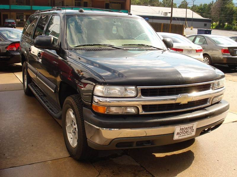 2004 Chevrolet Suburban 1500 LT 4WD 4dr SUV - Frontier Motors Ltd CO