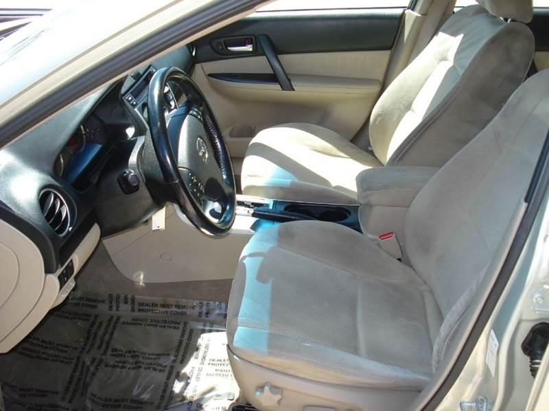 2006 Mazda MAZDA6 s 4dr Sedan - Frontier Motors Ltd CO