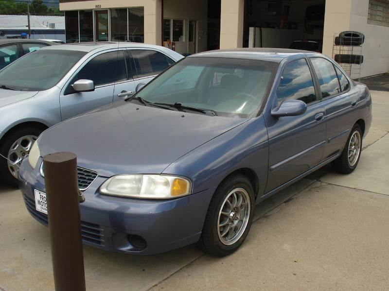 2000 Nissan Sentra GXE 4dr Sedan - Frontier Motors Ltd CO