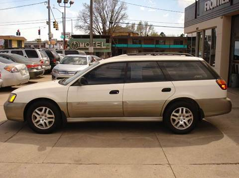 2002 Subaru Outback for sale in Frontier Motors Ltd, CO