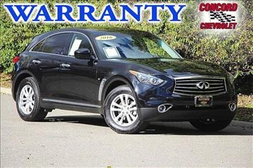 2016 Infiniti QX70 for sale in Concord, CA