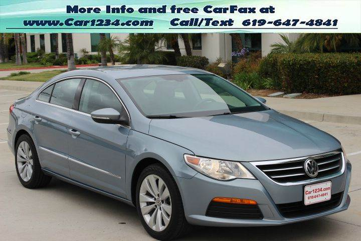 2011 volkswagen cc sport pzev 4dr sedan 6a in el cajon ca car 1234. Black Bedroom Furniture Sets. Home Design Ideas