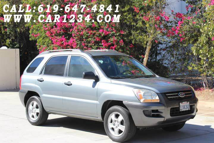 2006 kia sportage lx 4dr suv w manual in el cajon ca car. Black Bedroom Furniture Sets. Home Design Ideas