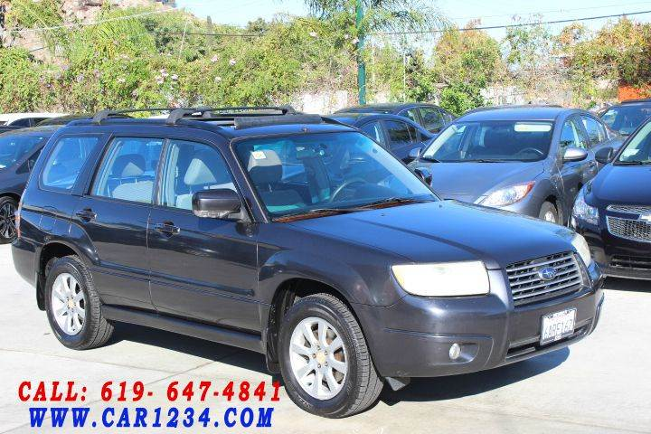 2008 subaru forester 2 5 x premium package awd 4dr wagon 4a w emissions equipment in el cajon. Black Bedroom Furniture Sets. Home Design Ideas
